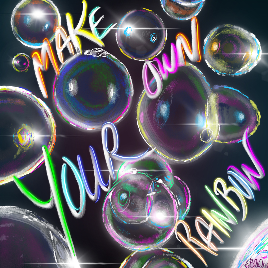 make your own bubbles 8x8