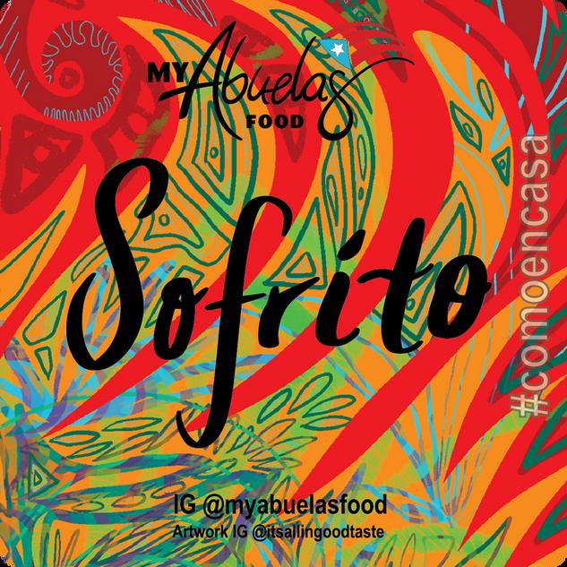 Sofrito Sticker for My Abuelas