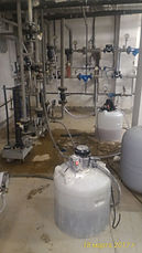 Промывка двух теплообменников Сондекс и системы ГВС