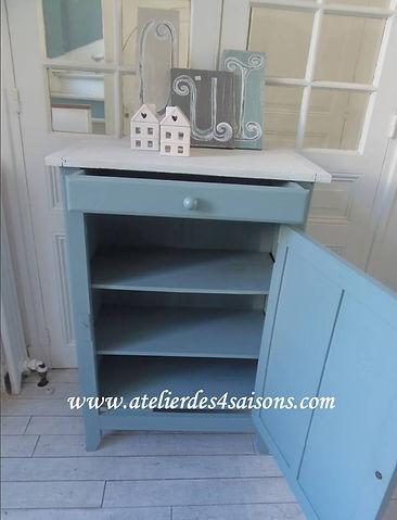 Confurier parisien bleu orage Atelier de