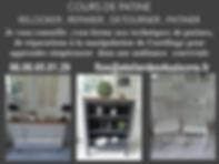 COURS PATINE 2020 2021 Atelier des 4 sai