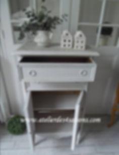 Meuble__vintage_patiné_gris_perle_Atelie