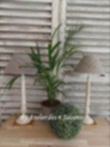 Lampes gris  galet Atelier des 4 saisons