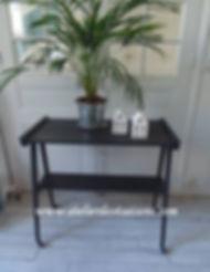 Dessrte vintage noir charbon Atelier des