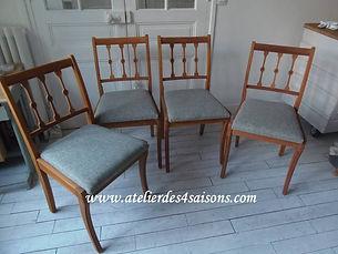 Chaises vintage revisitées   Atelier des