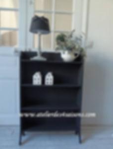 Bibus vintage gris  ardoise Atelier des