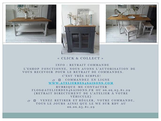 Atelier des 4 saisons vente clic and col