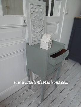 Chevets style Louis XV vert de gris  Ate