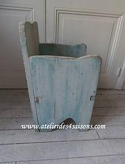 Fauteuil enfant en bois vintage  atelier