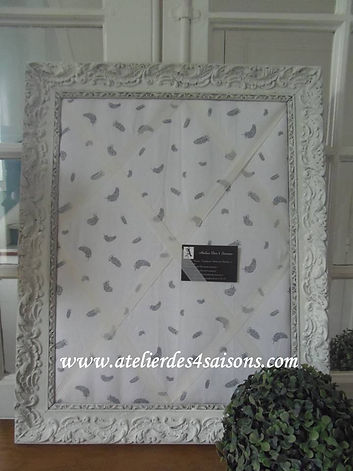Pèle-mêle plumes grises Atelier des 4 sa