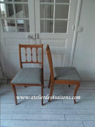 Chaise vintage revisitée Atelier des 4 s