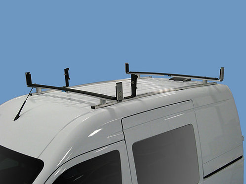 Adrian Steel 2 Bar Aluminum Utility Rack - Ford Transit Connect 2013 and earlier