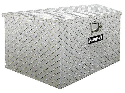 Buyers Diamond Tread Aluminum Trailer Tongue Toolbox