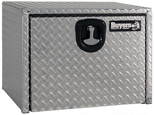 Buyers Products Diamond Tread Aluminum Underbody Toolbox