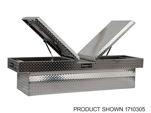 Buyers Products Diamond Tread Aluminum Gull-Wing Crossover Toolbox