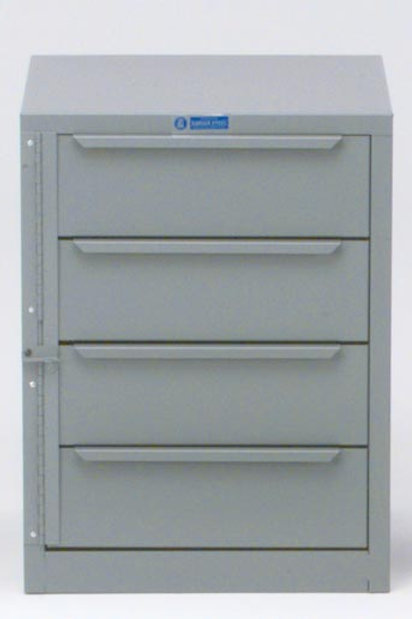 Adrian Steel 4 Drawer Unit
