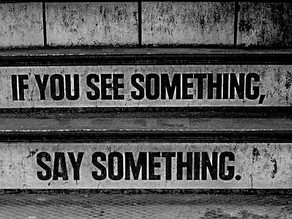 If You See Something, Can You Say Something?