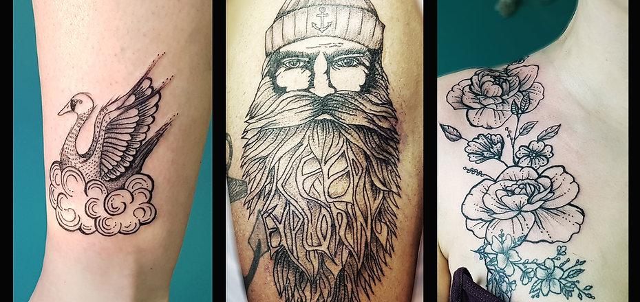 Fancy Pain Tattoos
