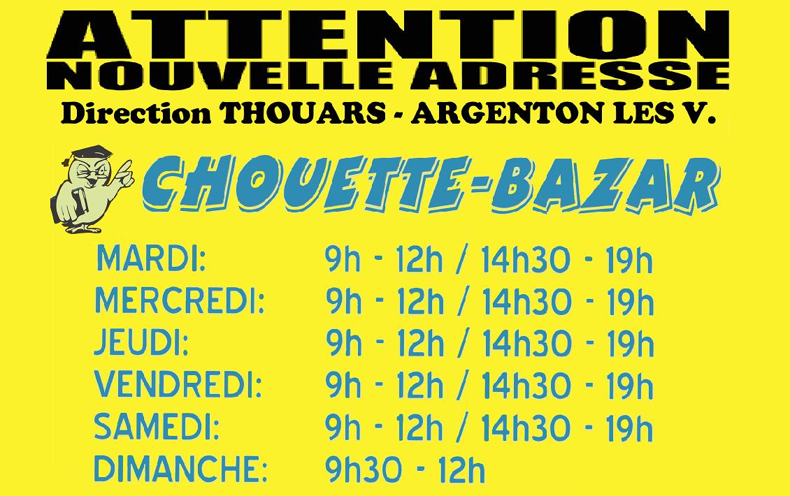 Chouette-Bazar