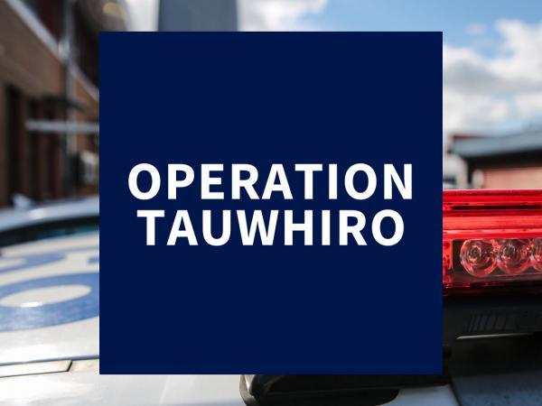 Operation Tauwhiro Logo