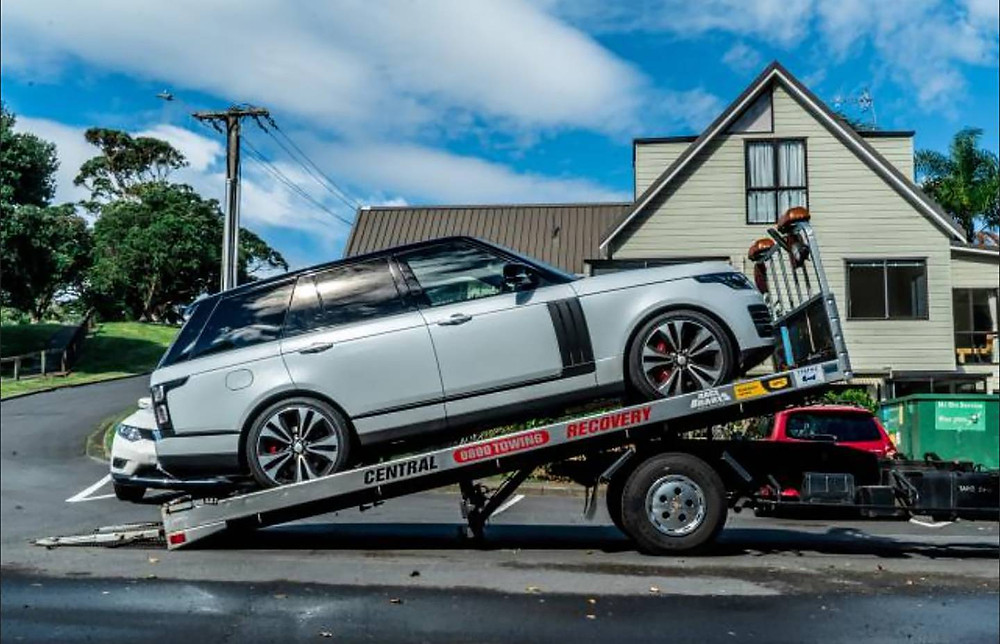 Range Rover Seized During Police Sting