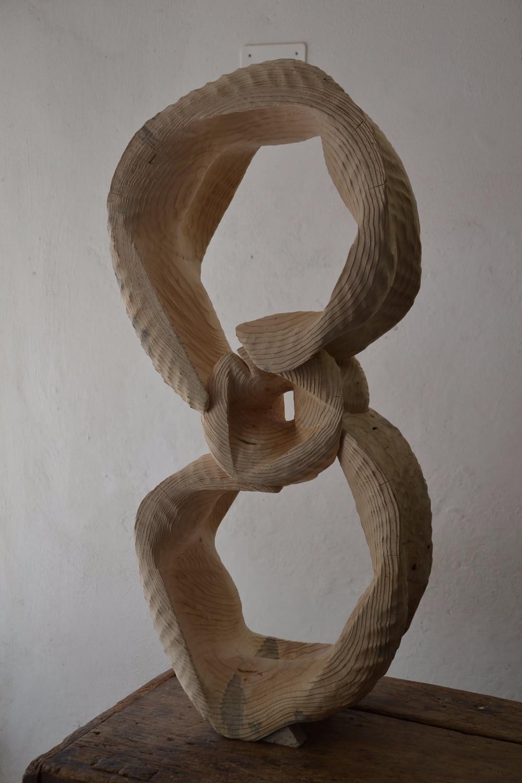 255 sculpture en sapin