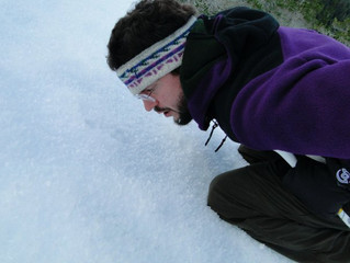 Hoar Frost and Online Homilies