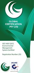 Global Logo Environmental JAS-ANZ Vertic