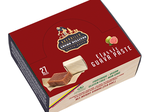 Lucho Dillitos Box of 27 (1080g) Classic Guava