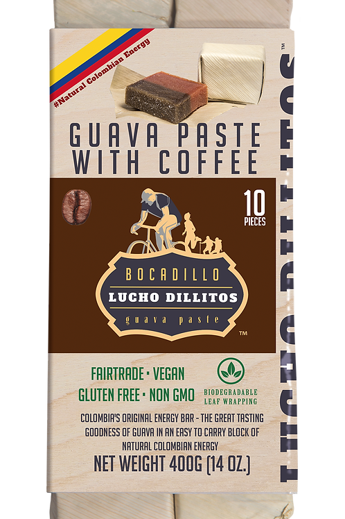 Lucho Dillitos Pack of 10 (400g) Coffee Guava