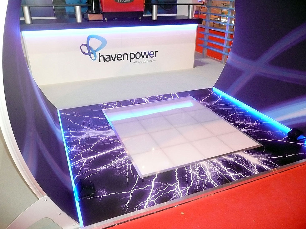 Haven Power Drax Brand Experience Energy Event