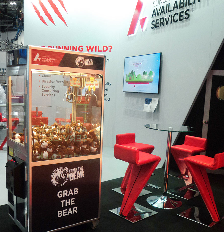 Exhibition Stand Grabber Game Sungard