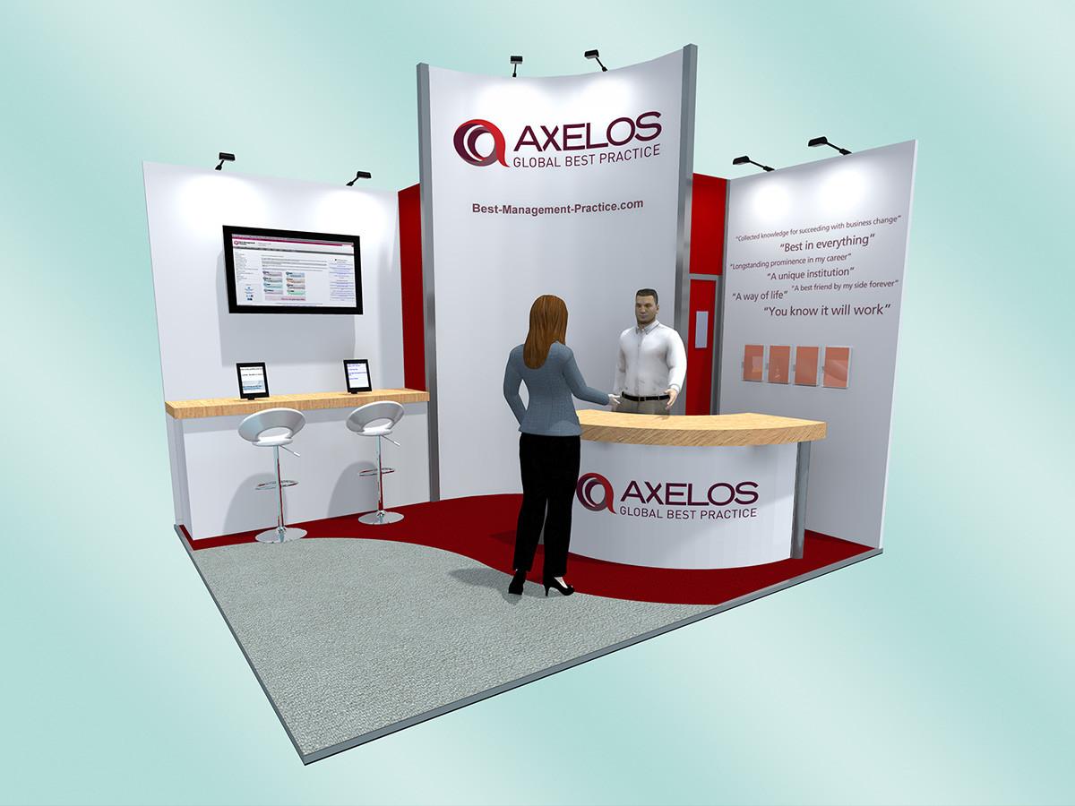 Exhibition Stand Design Concept Axelos