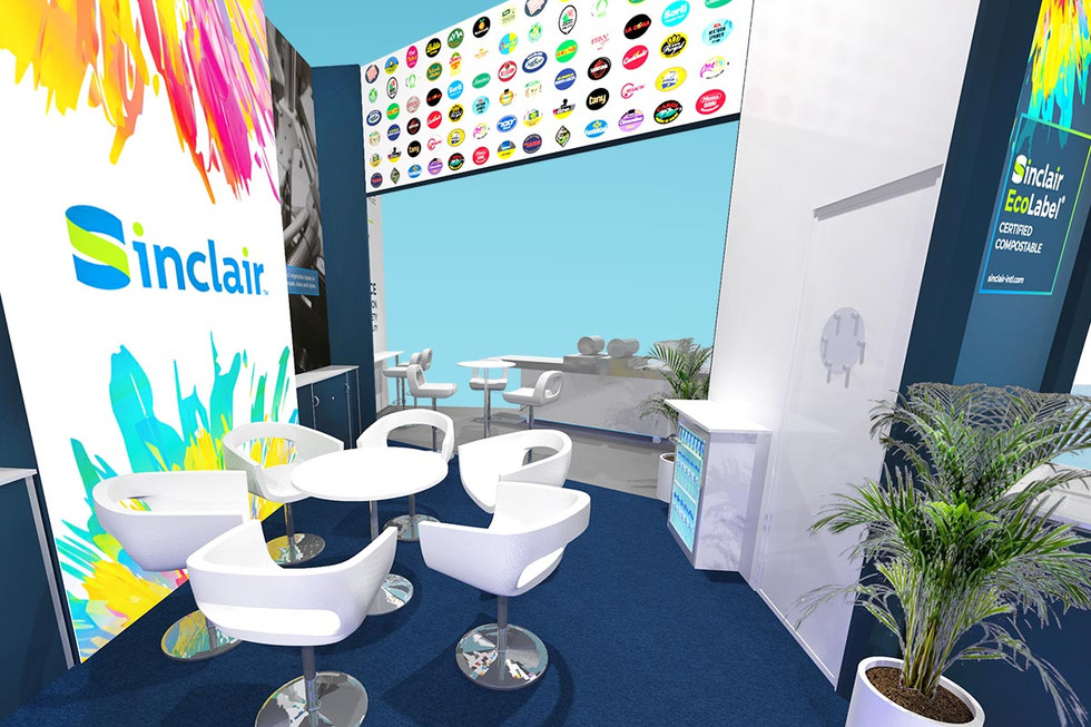 Exhibition Stand Meeting Area concept Sinclair