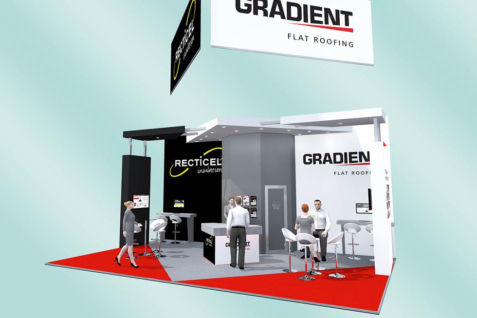 Split Brand Exhibition Stand Design Concept