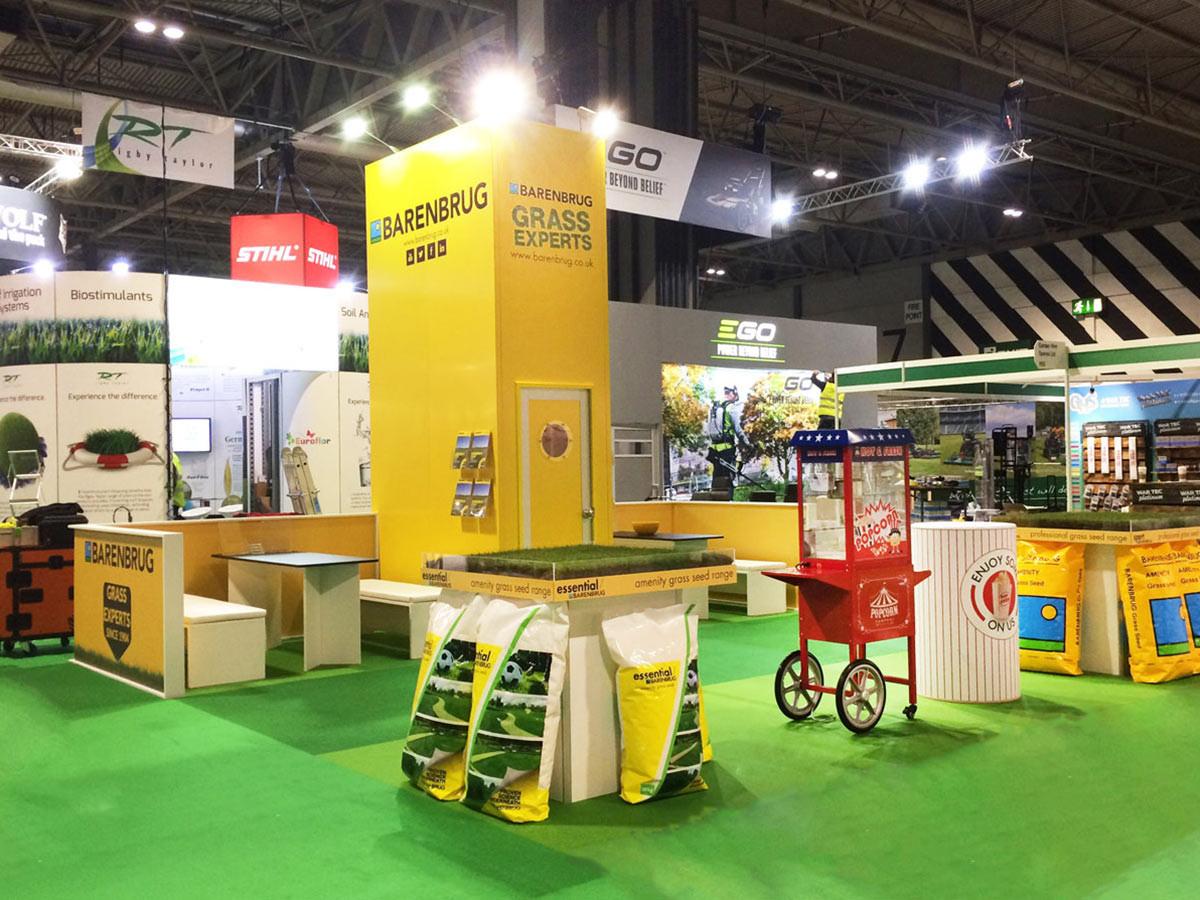 Custom Exhibition Stand Barenbrug at Saltex 2018