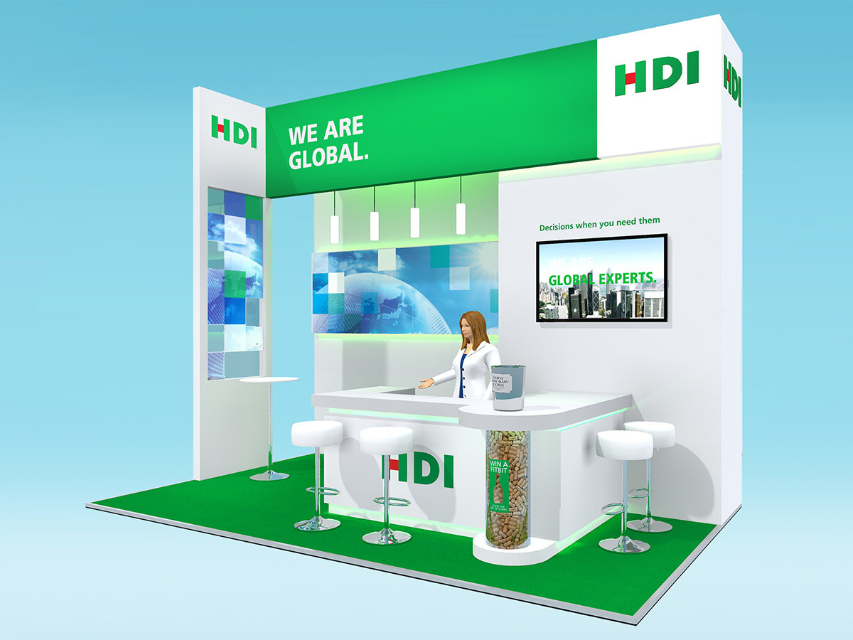 Exhibition Stand Design Concept HDI Airmic 2017