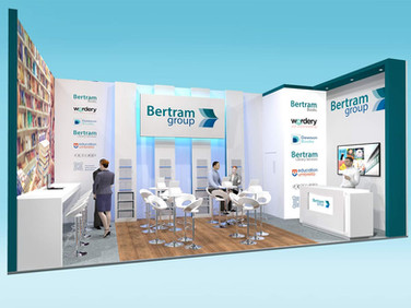 Bertram Group Exhibition Stand Design Concept