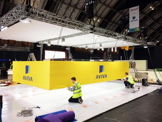 Aviva Stand Build