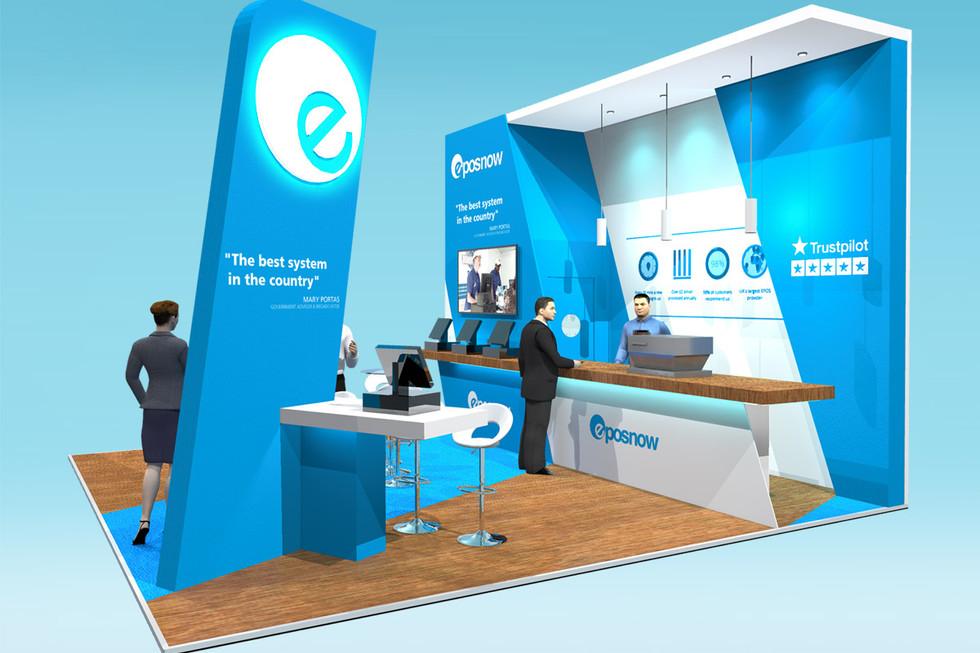 Custom Exhibition stand Design Epos now