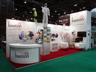 Split Branded Custom Exhibition Stand - ProGarm & Bastion