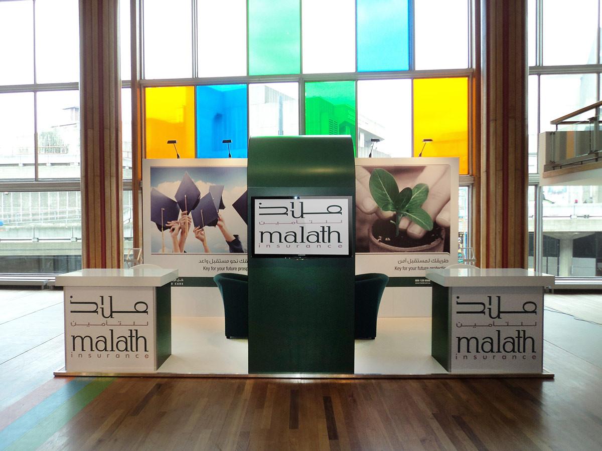 Exhibition Stand Installation Malath Insurance