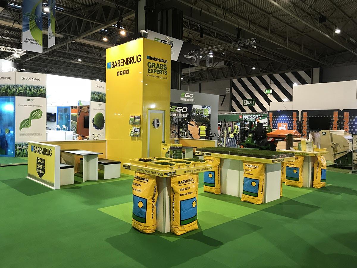 Custom Exhibition Stand Barenbrug at Saltex 2017
