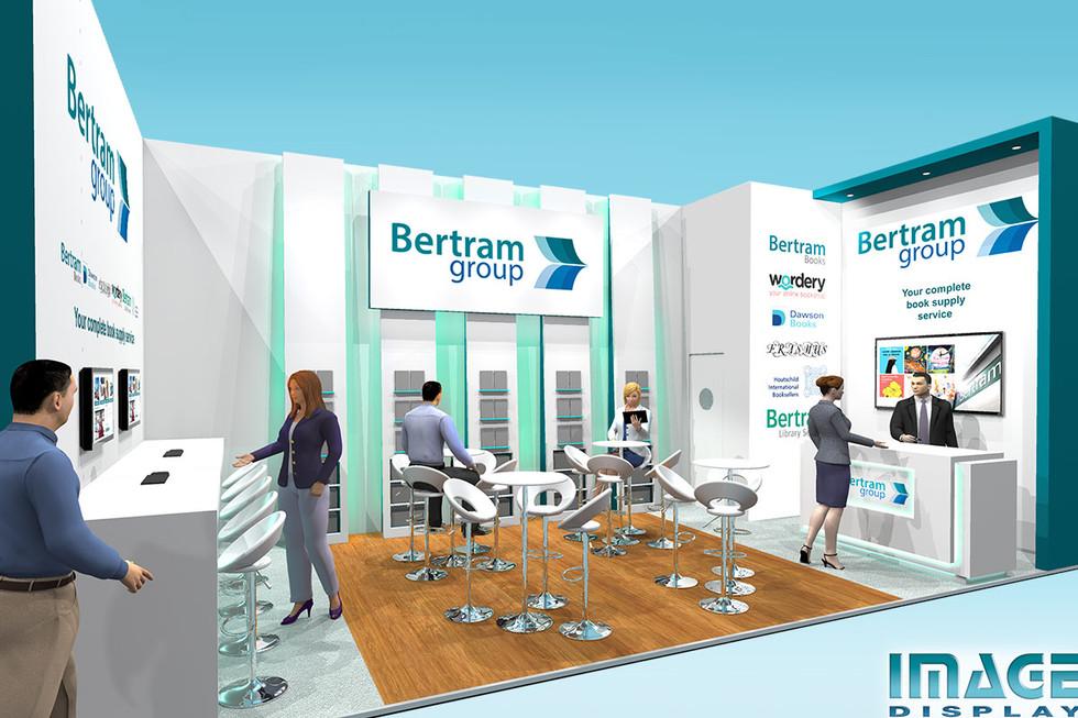 Exhibition Stand Design for Bertram Books at Frankfurt Bookfair