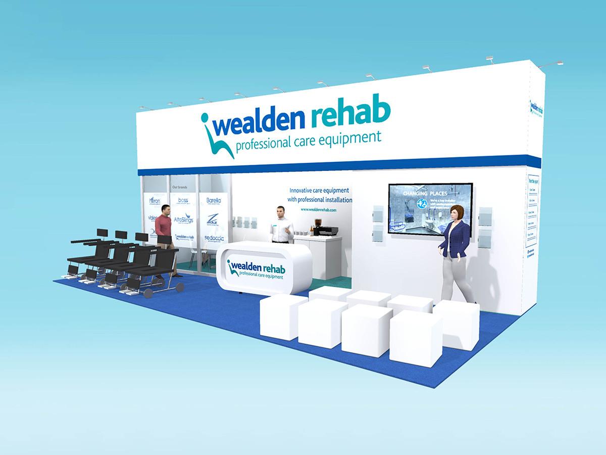 Custom Exhibition Stand Deign Wealden Rehab