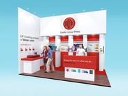 Castle Colour Exhibition Stand Design Concept