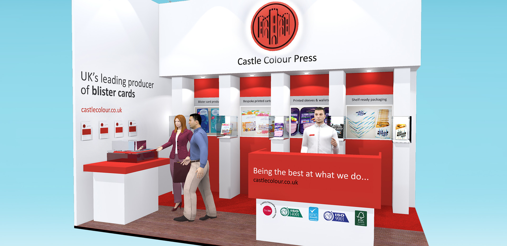 Exhibition Stand Design Concept Castle Colour