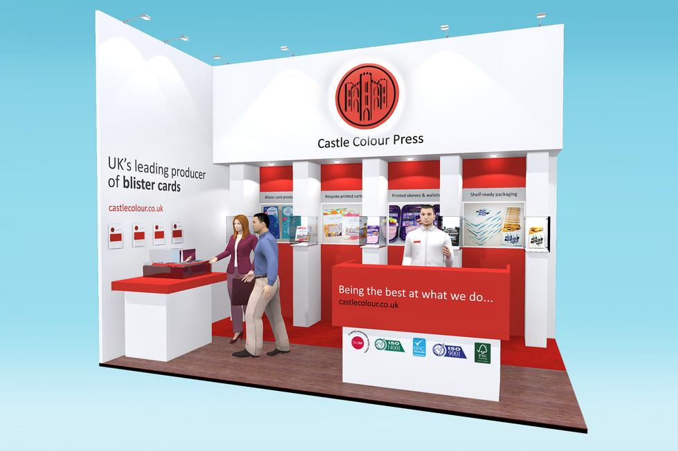Exhibition Stand Design Concept Castle Colour