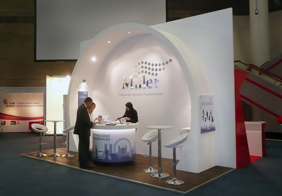 Custom Exhibition Stand Design and Build Miller Insurance
