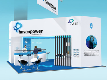 Haven Power Exhibition Stand Design Concept